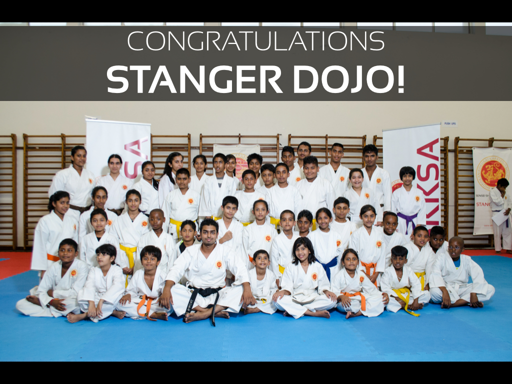 Congratulations Stanger Dojo!